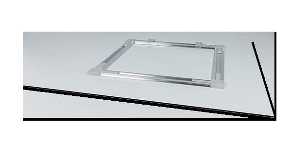 Aluminium-Aufhängerahmen zur Schildermontage