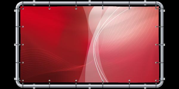 Banner-Wechselrahmen