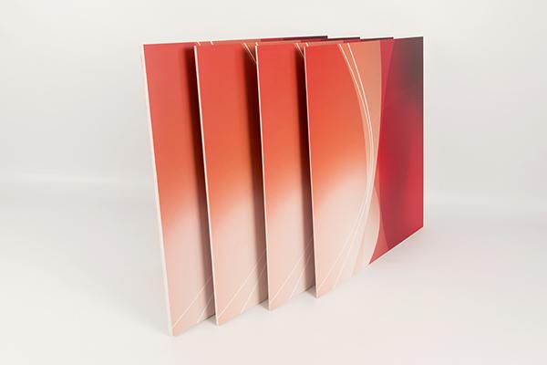PVC-Hartschaum Muster